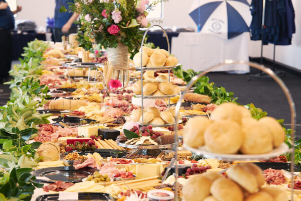 Bell Park Sports Club Club Room Grand Opening Buffet Table